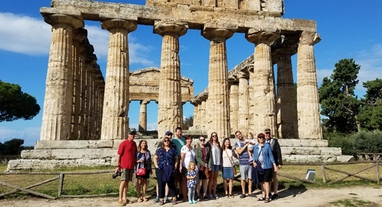 greek temples in italy