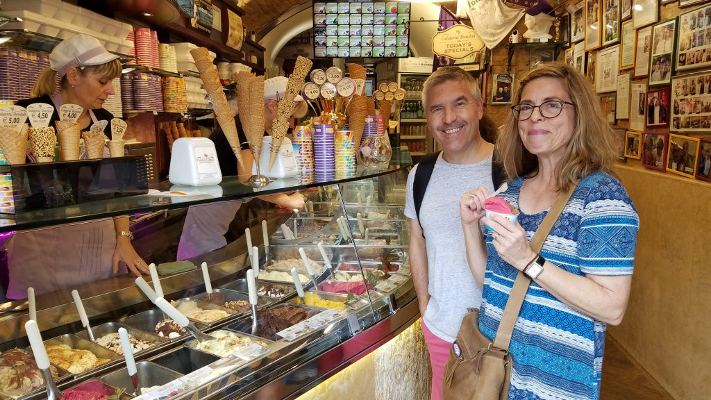 Gelato in San Gimignano