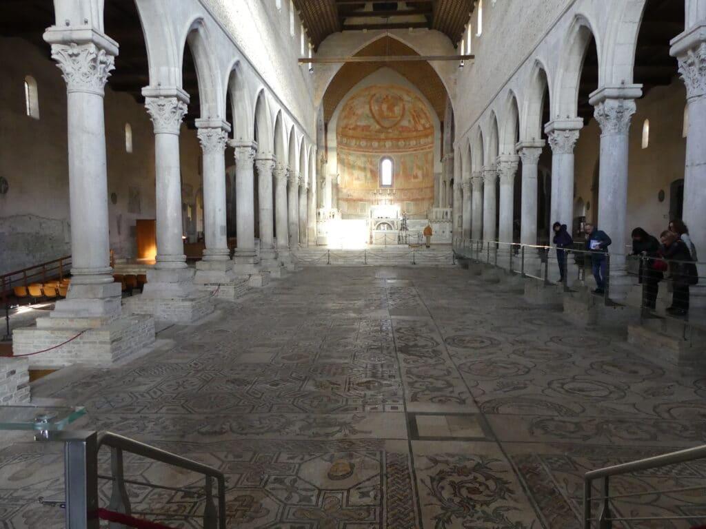 Mosaic floor of Basilica di Santa Maria Assunta in Aquileia