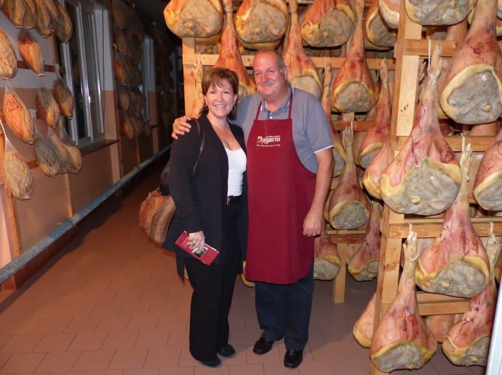Tour and tasting of Prosciutto di San Daniele in Friuli