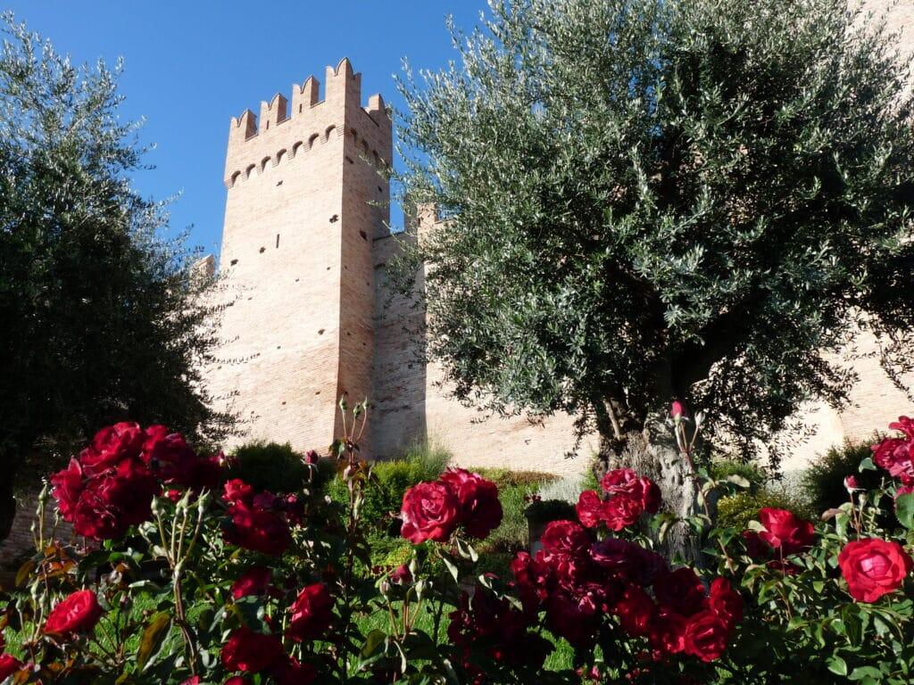 Gradara castle in the region of le Marche