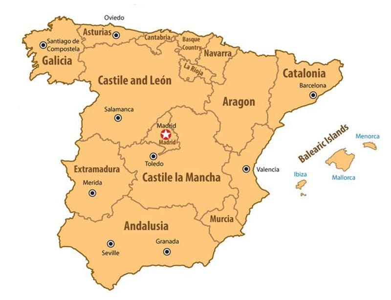 Ultimate guide to the regions of Spain