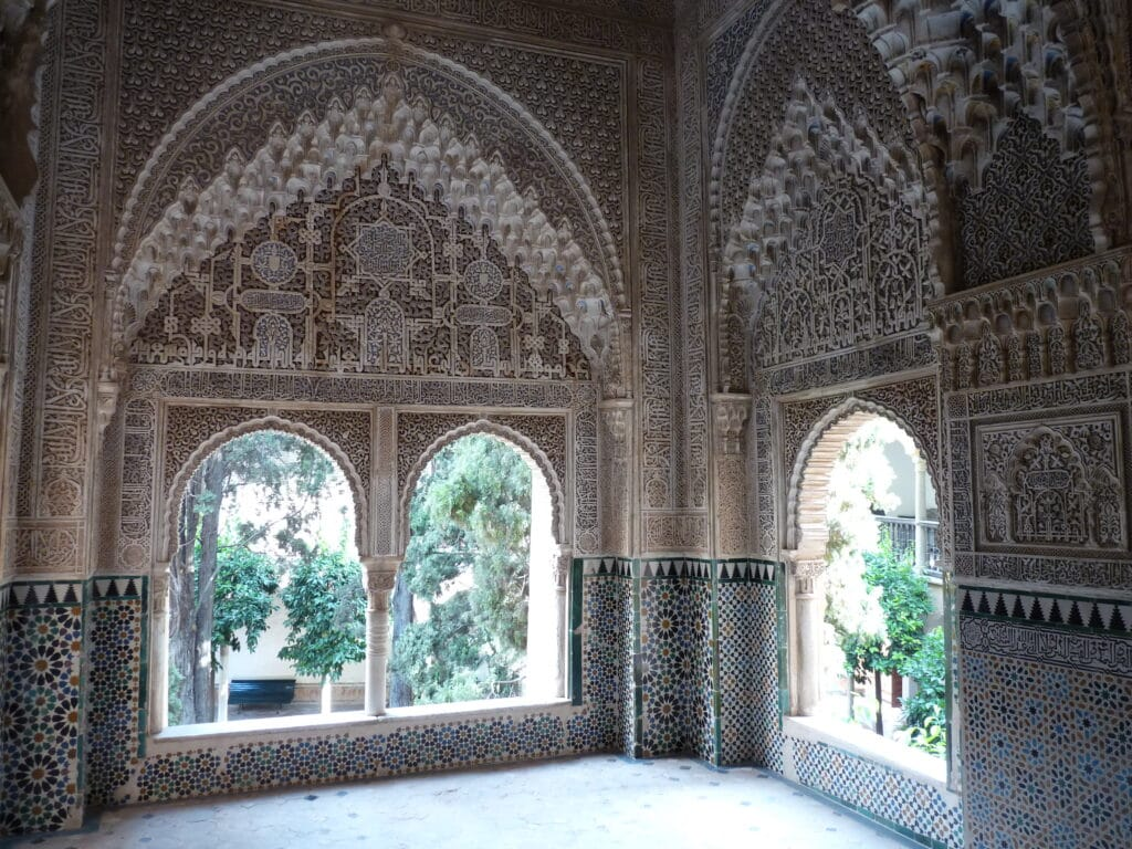 The Alhambra citadel is the most beautiful example of the magic Moorish architecture in Andalucía