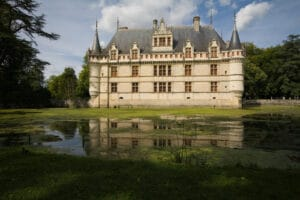 Chateau Azay le Rideau in the Loire Valley