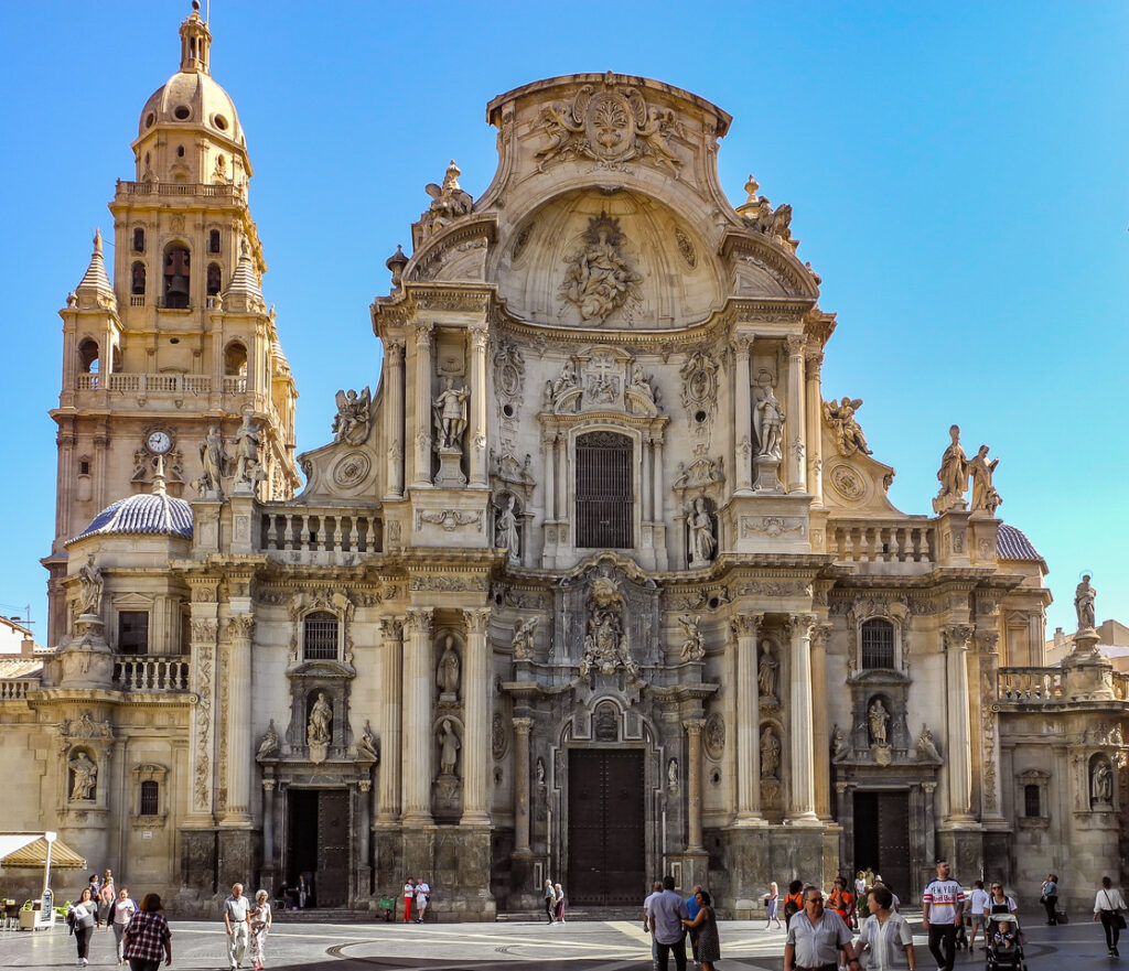 The Cathedral Church of Saint Mary in Murcia