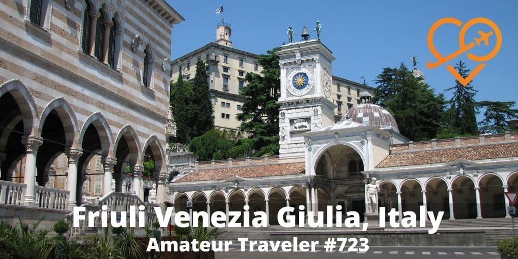 Amateur podcast on Friuli