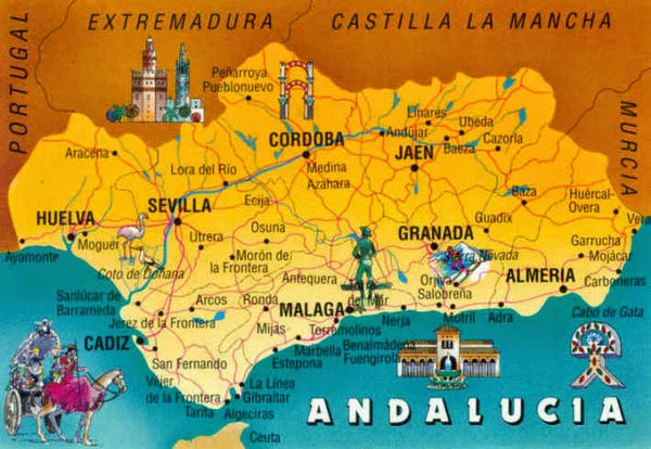 Travel guide Andalucia Spain