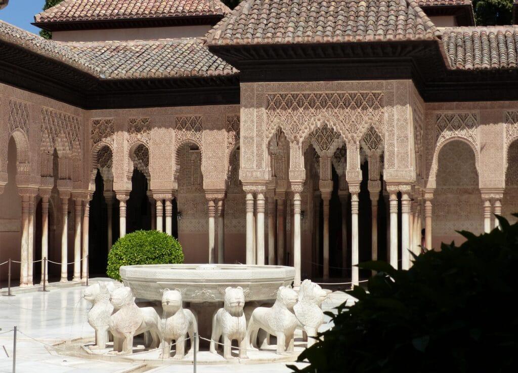 Visiting the Alhambra in Granada