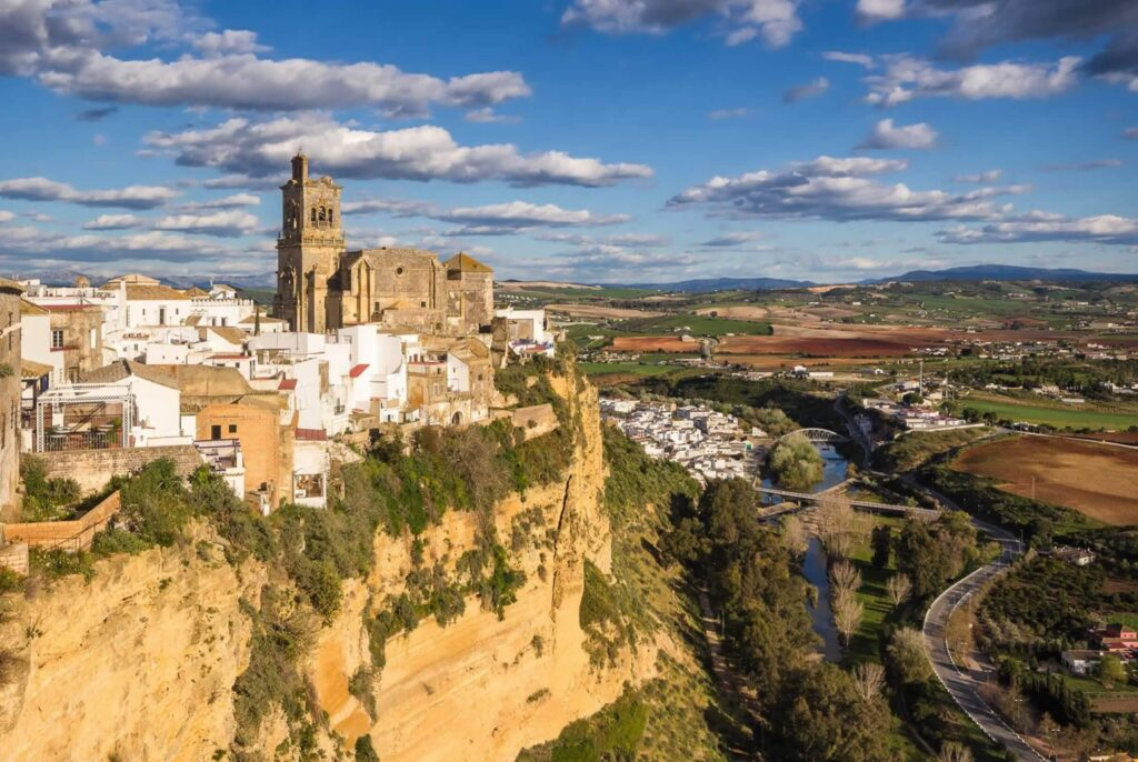 white washed villages of andalucia