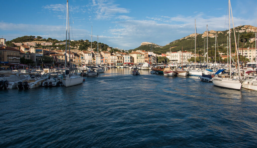 town of cassis in provence